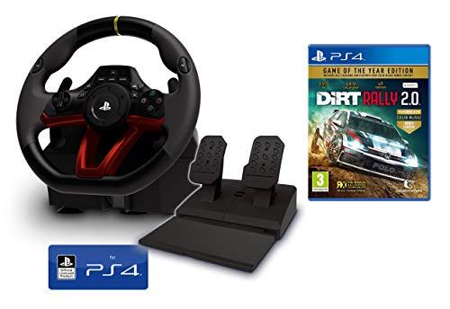 Volante y Pedales PS4 Inalámbrico [Nuevo Modelo] Licencia Oficial Sony Playstation 4...