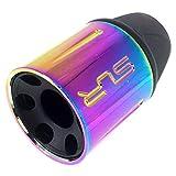 SP製 FH65 電動ガン ガスブローバックライフル フラッシュハイダー 14mm 逆ネジ メタル製 - シルバー 【SportPro クリーニングクロス付】