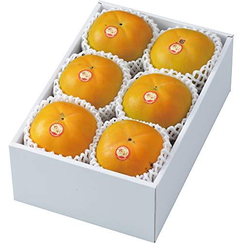 柿 太秋柿 たいしゅうかき 秀品 大玉6玉 1.8kg 岡山県産 かき カキ