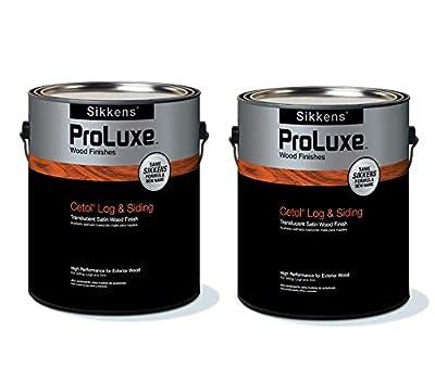 Sikkens Proluxe Log & Siding 005 Natural Oak 2 Gallon Pack