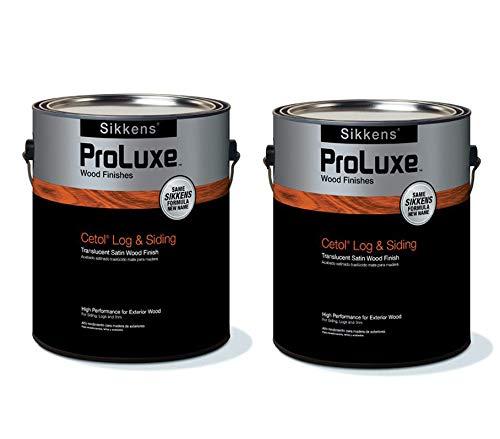 Sikkens Proluxe Log & Siding 077 Cedar 2 Gallon Pack