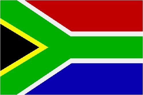 Flagge Fahne Südafrika 90x150 by Flaggenparadies