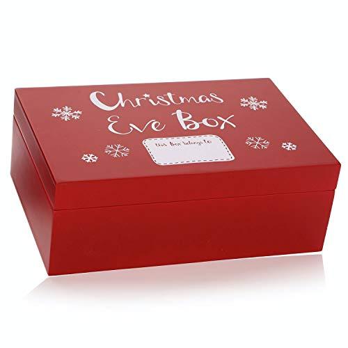 Shruti Designs - Caja de Navidad (29 x 19 x 10,5 cm), Color