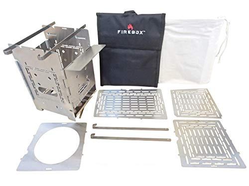 FIREBOX(ファイヤーボックス) G2 ストーブ Complete Set コンプリート セット バーベキューコンロ 焚火台 5...