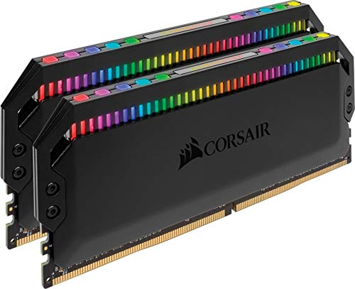 Corsair Dominator Platinum RGB 16GB (2x8GB) DDR4 4266MHz C19 Enthusiast RGB LED-Beleuchtung Arbeitsspeicher, schwarz