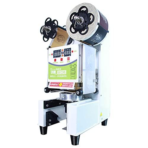 ZLH Máquina de Sellado de Taza de Taza de té Manual Máquina de Sellado eléctrico para 89mm / 90 mm / 95mm de diámetro 300-600 Tazas/Hora