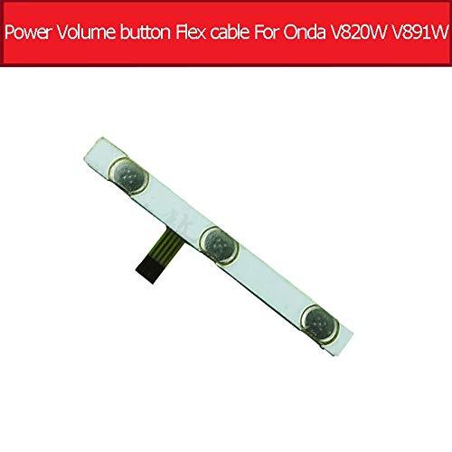 Original einschalten aus Lautstärketaste Flexkabel Für Onda V820W V891W Quad-Core 8,0