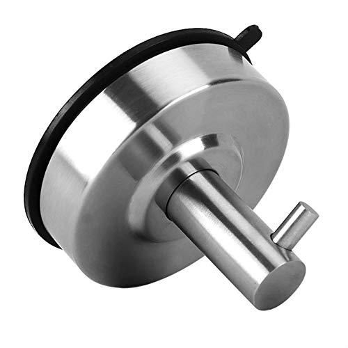 DaMohony Colgador de ventosa de acero inoxidable para baño y cocina