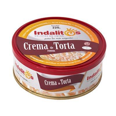 Indalitos - Crema de Queso Torta - Bandeja 5 Latas 220 g