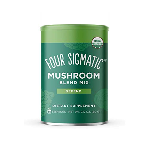 Four Sigmatic Mushroom Blend, 10 Mushroom Blend Mix with Lion