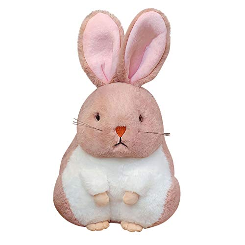 Muium(TM) 30 cm de peluche de dibujos animados, conejo de peluche – Conejo grande de peluche, juguete infantil, cochecito, compañero de dormir, Pascua, decoración de boda