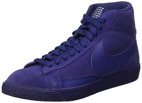 Nike Nike Herren Blazer Mid PRM VNTG Gymnastikschuhe, Azul/Marrón (Loyal Blue/Lyl Bl-gm Lght BRWN), 42 EU