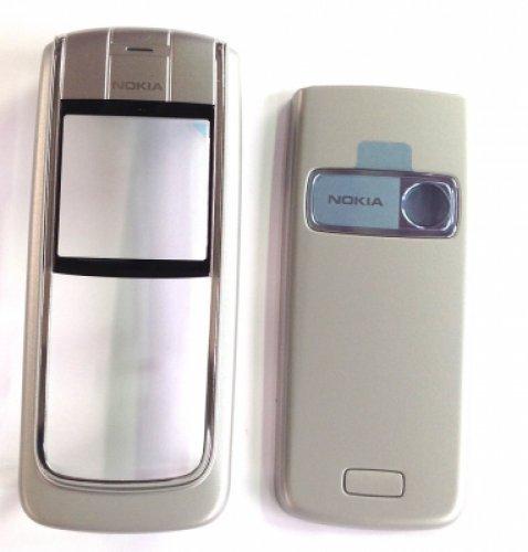 GUSCIO Per Nokia 6020Silver (Front + B.C + Lens) (Original)