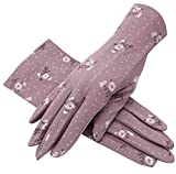 Black Temptation 1 Pair Women's Sunscreen Gloves Cycling Driving Gloves for Summer #05