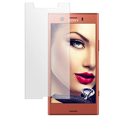 mtb more energy® Proteggi Schermo in Vetro temperato per Sony Xperia XZ1 Compact (G8441, 4.6'') - Pellicola Protettiva Salvaschermo Vetrino