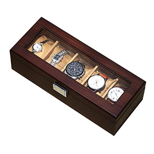 LIYANSBH Reloj de Pulsera Organizador de Pantalla Caja de Reloj Reloj de...