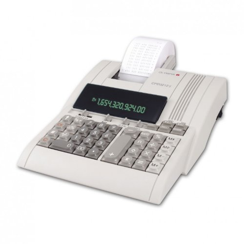 Olympia 946776005 CPD 3212T Tischrechner, 1 farbig-druckend