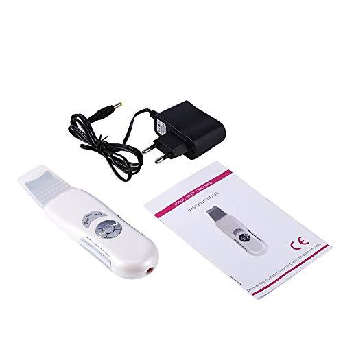 Ultrasonic Face Skin Cleaner Device, ultrasuoni viso Skin Clean Scrubber Clean Blackhead Device Exfoliator Beauty Machine