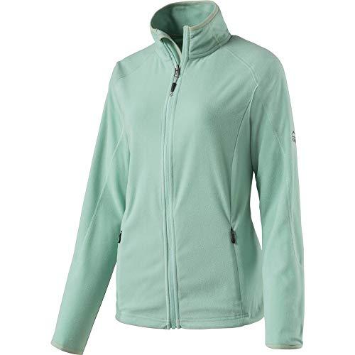 McKINLEY dames fleeceveste Nelia II Blazer, groen (MINT), (fabrikantmaat: 42)