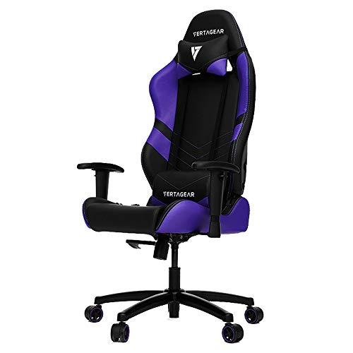Cadeira Gamer Vg-Sl1000, Windows, Racing Series, Black/Purple Edition