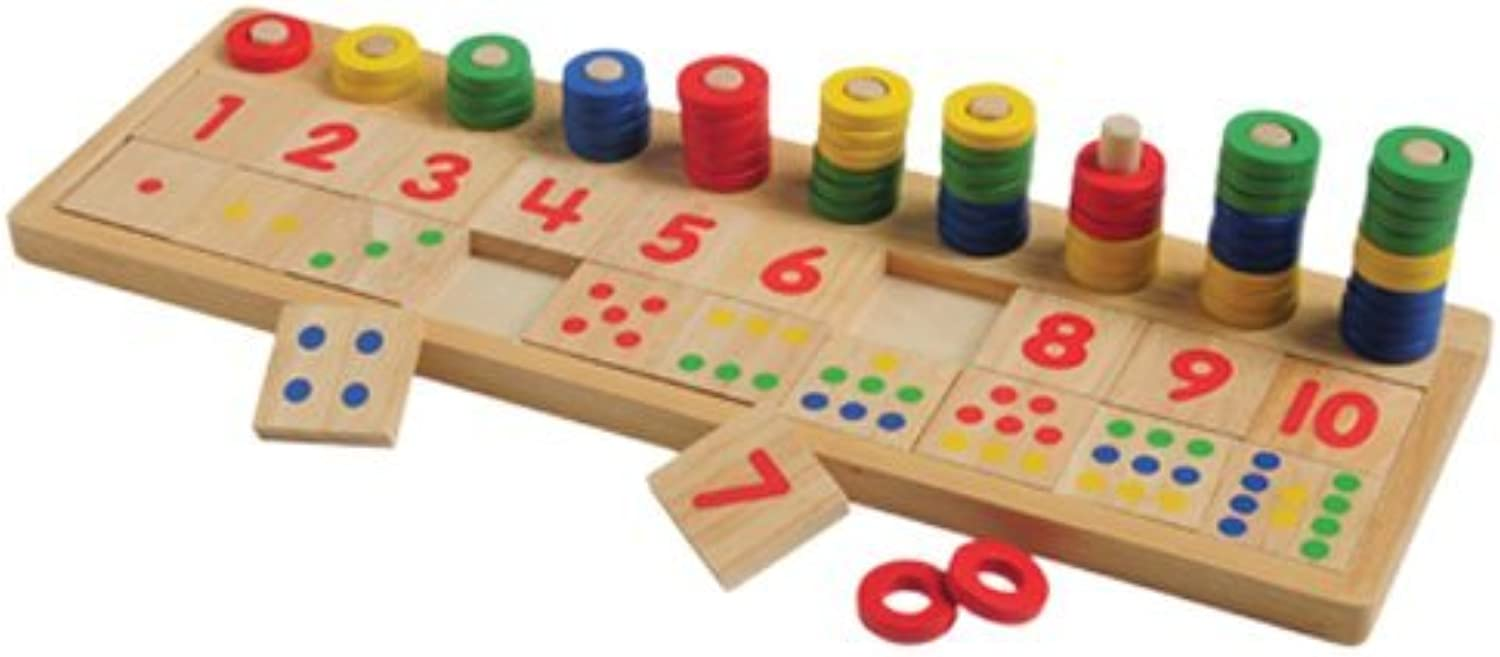 Count & Match Numbers  Learning Tool by Constructive Playthings