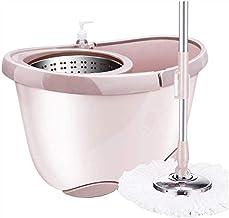 JSZMD Mop Bucket Rotating Mop Bucket Automatic Mop Household Mop Bucket Wet Mop