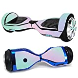 MightySkins Skin Compatible with Hover-1 H1 Hoverboard Scooter - Cotton Candy | Protective, Durable, and Unique Vinyl Decal wrap Cover...