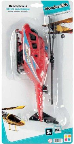 WDK PARTNER - A1300061 - Véhicules miniatures - Hélicoptère à hélices mécaniques - Modèle aléatoire