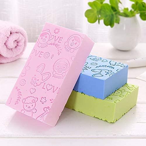 Ultra Soft Exfoliating Sponge Shower Brush, Exfoliating Bath Body Shower Sponge, Spa Cellulite Massager Dead Skin Sponge Remover for Body