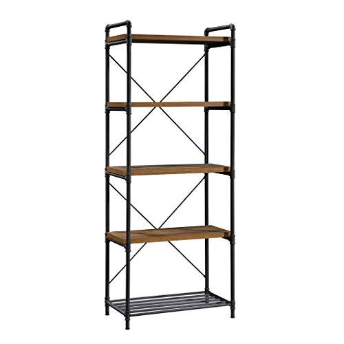 Sauder Iron City Tall Bookcase, L: …