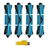 WDGNY Accesorios de limpieza 5 piezas cepillo principal para cepillo para aspiradora Conga 3090 Cecotec (color: azul) (color: azul) (color: azul) (color: azul) (color: azul)