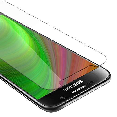 Cadorabo Pellicola Protettiva compatibile con Samsung Galaxy S6 in ELEVATA TRASPARENZA - Vetro di protezione del display (Tempered) con durezza 9H con compatibilità 3D touch