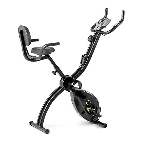 Gymrex Bicicleta Estática Para Entrenamiento Indoor GR-MG35 (Masa de inercia: 1,5 kg, Capacidad de carga: 120 kg, Altura del sillín: 73,5-82,5 cm)