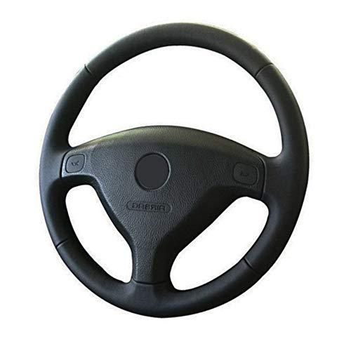 MIOAHD Handgenähte Auto-Lenkrad-Flechtabdeckung, Für Opel Astra (G) 1998-2004 Zafira (A) 1999