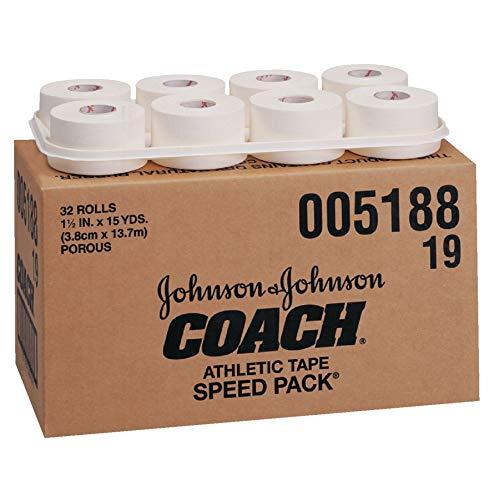 Johnson amp Johnson Consumer Coach Porous Athletic Tape 32 Count