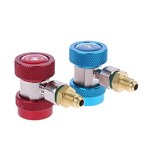 SPFCJL 1/4 SAE Auto AC AC può Toccare la valvola per Bottiglie per Rubinetto per Dropshipping refrigerante a Gas R22 R134A R410A