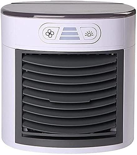 wangYUEQ Aria condizionata Fan Air Cooler Mini Three Gear Mode modalità di Raffreddamento Ventola Air Gelo Air Condizionatore 7 Colore LED Ventola