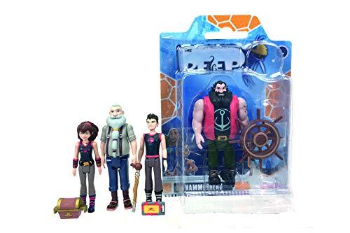 Simba Dickie 109391001 Die Nektons, Piraten, bewegliche Figuren Fantastische Kreatur