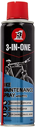 3-IN-ONE Bike Maintenance Spray with PTFE 250ml