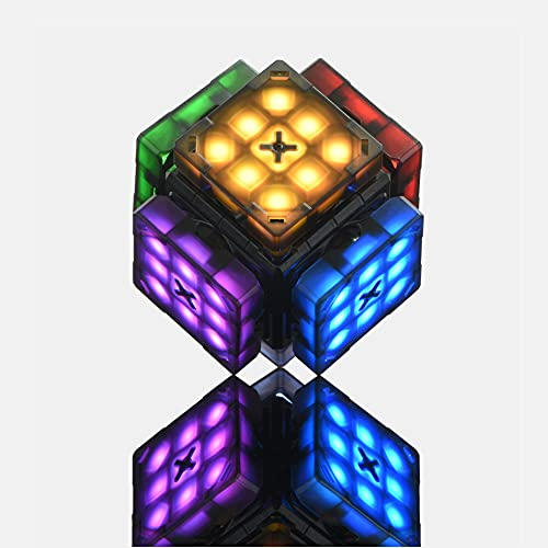 eX-Mars is the world's only patented A.I. robot cube with 18 million views, self-scrambling, self-timing, teaching beginners, playing music, offering many other incredible features.