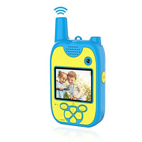 Appareil Photo Enfants Talkie Walkie Enfants 1080P 8MP Double Lentilles Appareil Photo Enfant