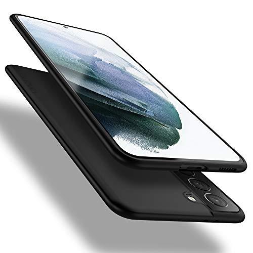 X-level Samsung Galaxy S21 5G Hülle, [Guardian Serie] Soft Flex TPU Hülle Superdünn Handyhülle Silikon Bumper Cover Schutz Tasche Schale Schutzhülle für Samsung Galaxy S21 5G - Schwarz