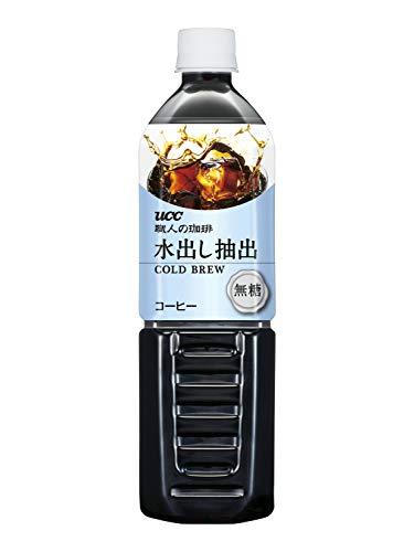 【Amazon.co.jp限定】 UCC 職人の珈琲 水出し抽出 無糖 コールドブリュー ペットボトル 900ml ×12本