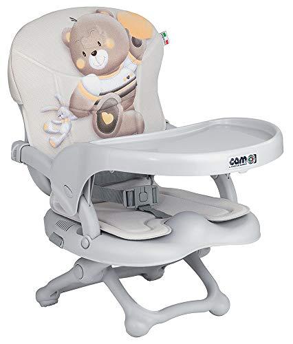 seggiolino da tavolo bambini Cam il Mondo del Bambino - Rialzo da sedia Smarty Pop col.240