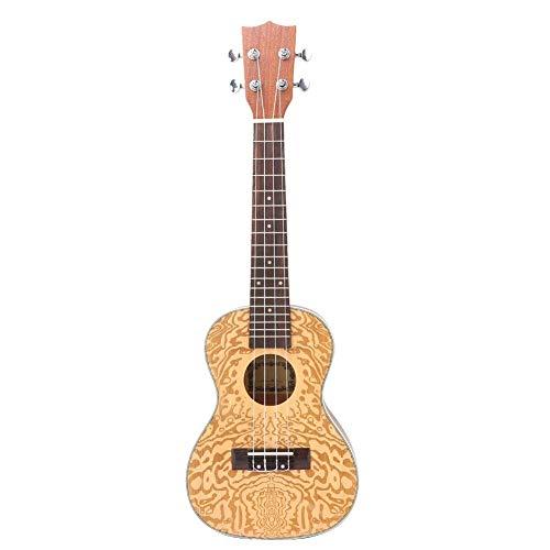 Bnineteenteam 24 inch sparrenhout carving ukelele 4 string Hawaï gitaar voor beginners muziekliefhebbers