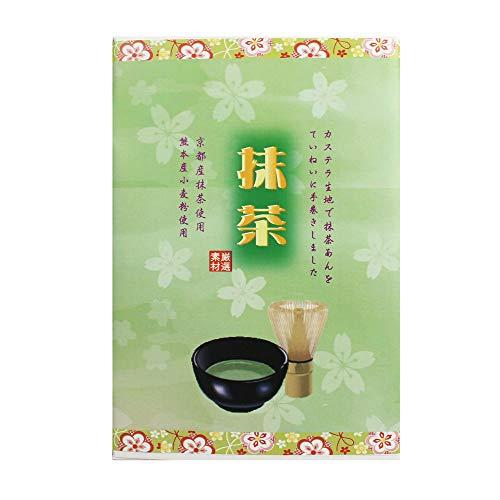 雅華旬菜桜柄 抹茶小箱 6個入×4箱 イソップ製菓 熊本産小麦粉使用カステラ生地で抹茶あんを手巻きにした郷土菓子 ギフト 贈答用