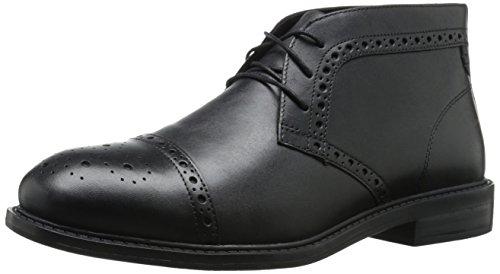 Dunham Men's Gavin-Dun Chukka Boot,Black,8 4E US