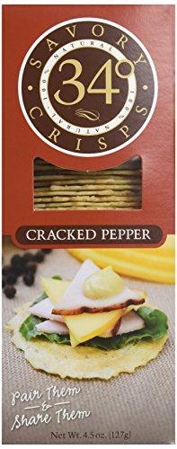 34 Degrees Crisp Bread Crkd Pppr, 4.5 oz