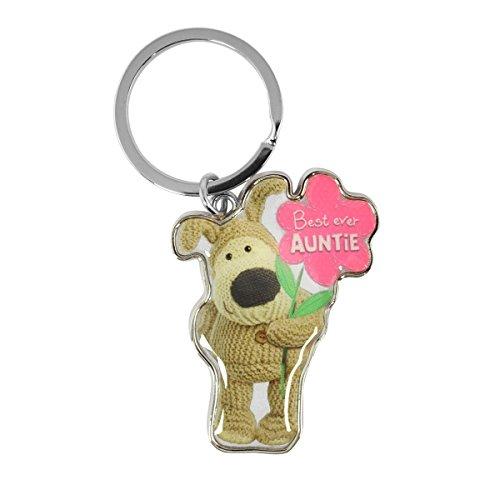 Boofle - Best Ever Auntie Metal Keyring