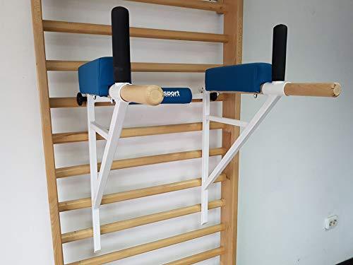 ARTIMEX Barra Triceps por espalderas - se Utiliza en hogares, gimnasios o...